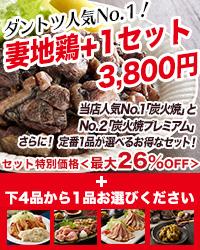 宮崎妻地鶏+1セット(送料無料)